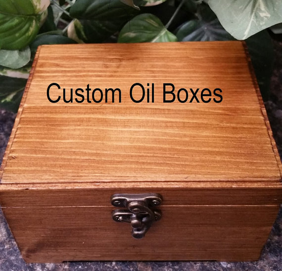 Custom Order Large Wooden Box